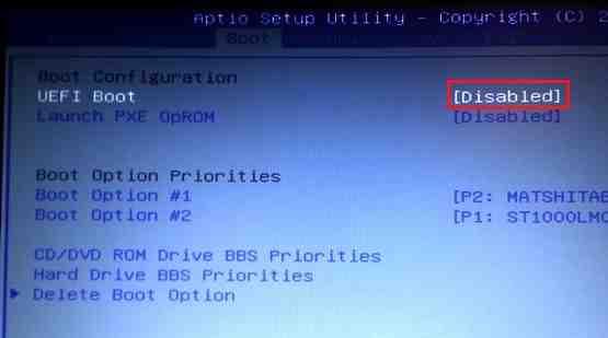Не устанавливается Windows 7 вместо Windows 8