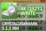 CrystalDiskMark 5.1.2 x64 4K Q32T1 write