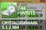CrystalDiskMark 5.1.2 x64 4K write