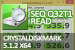CrystalDiskMark 5.1.2 x64 Seq Q32T1 read