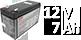 Аккумуляторы для ИБП 12V 7Ah