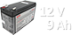 Аккумуляторы для ИБП 12V 9Ah