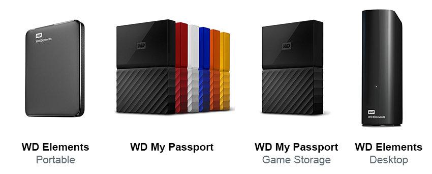 Самые популярные жесткин диски WD
