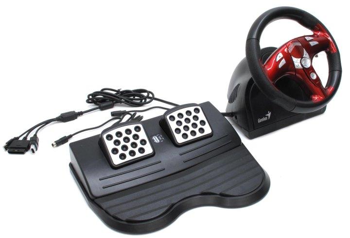 Драйвера для Руля Genius Trio Racer Ff