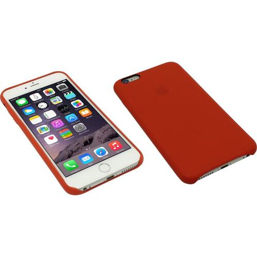 5ee86553a Назад Оригинальный чехол Apple iPhone 6 Plus Leather Case Bright Red