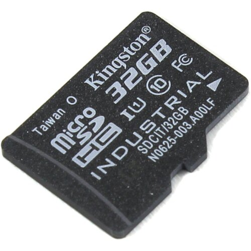 MicroSDHC карта Kingston Industrial Temperature 32 Гб UHS-I Class 1 (U1), Class 10 (SDCIT / 32GBSP)