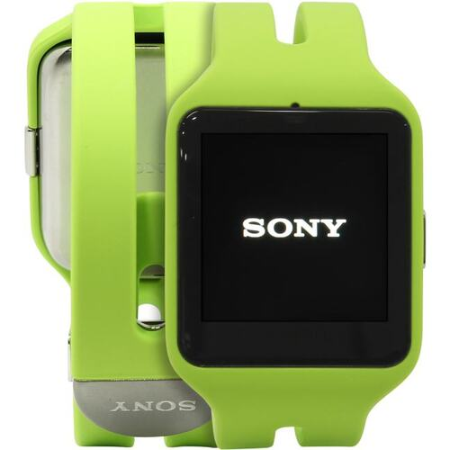 "Sony SmartWatch 3 SWR50 479048 Lime (1.2GHz, 512MbRAM, 1.6"" 320x320, NFC, Bluetooth, GPS, 4Gb, Android Wear)"